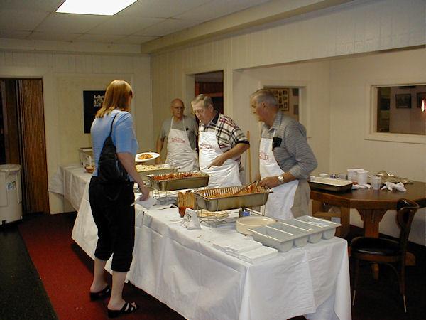 Pasta Dinner September 2006